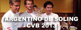 ARGENTINO DE SOLING CVB 2013