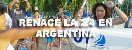BOTADURA DE 3 BARCOS 2.4 EN EL CNSI