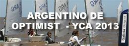 ARGENTINO DE OPTIMIST 2013